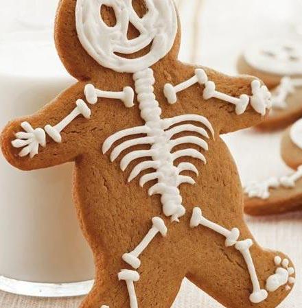 To Die For Gingerbread Men Skeletons Recipe