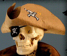 Tri Cornered Pirate Hat You Can Make — Free Printable