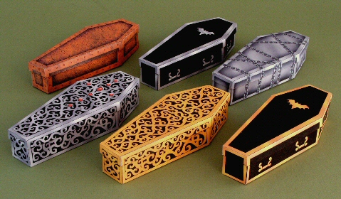 impressive coffins you can make free templates two cans on a string