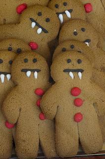 Adorable Vampire Gingerbread Men Recipe