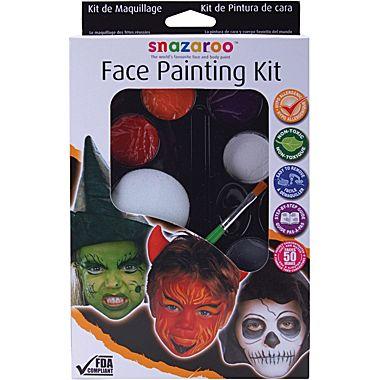 Snazaroo Face Paint Palette Kit Will Jazz Up Halloween