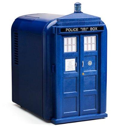 Doctor Who Blue Tardis Mini Fridge — Product Review