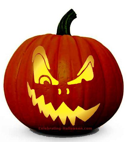 demented-face-pumpkin-carving-pattern