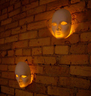 Glow Stick Lighted Masks