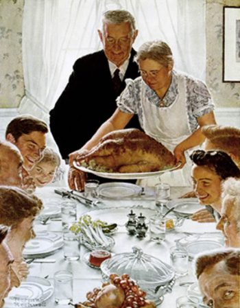 thanksgiving rockwell