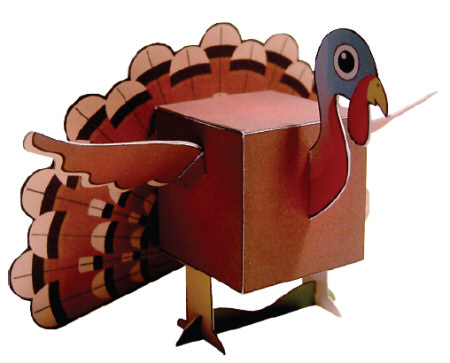 Thanksgiving Paper Crafts You Can Make