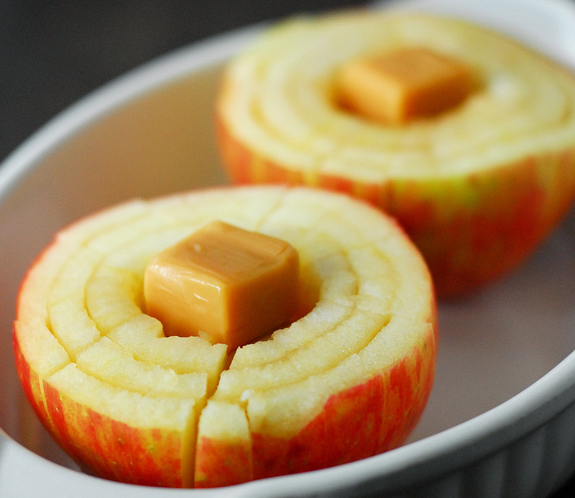 Baked Caramel Apples Recipe