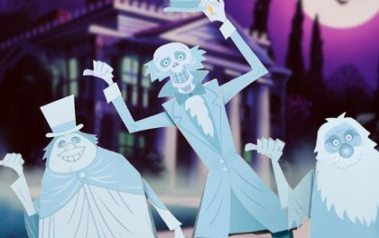 Disney's Haunted Mansion Free Templates