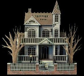 Make Your Own Haunted Village — Free Printables