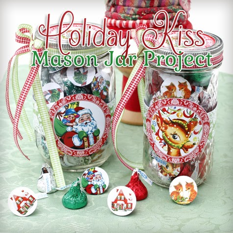 Christmas Candy Containers