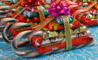 Easy Candy Sleighs You Can Make