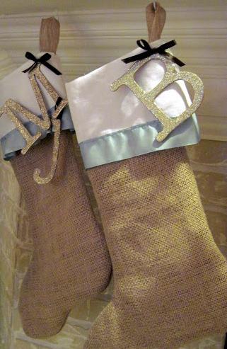 Rustic Christmas Stockings You Can Make
