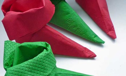 How to Fold a Square Napkin Into An Elf Shoe Video Tutorial