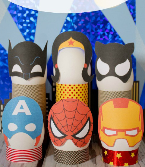 Super Hero Easter Eggs Free Printable