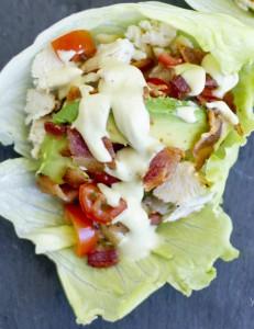 LettuceWrapChickenClubSandwich