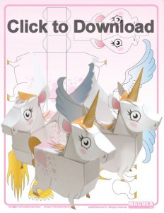UnicornPapercraft