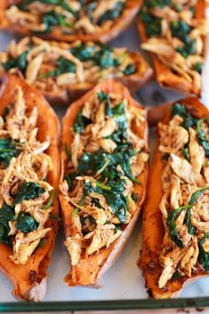 Sweet Potato Skins With Chipotle Chicken Recipe