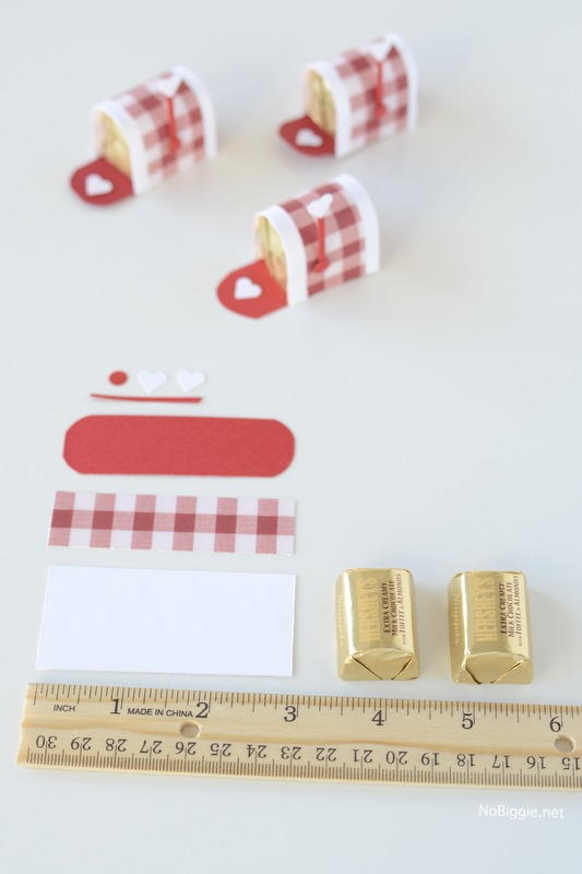 Little Chocolate Candy Mail Boxes