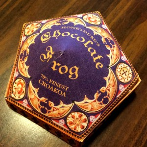 Chocolate Frog Box Cards Template | Two Cans On A String