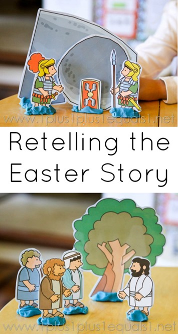 Easter Story Coloring Book Free Printable