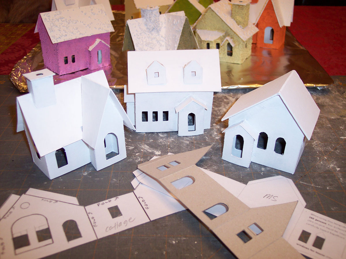 Make Your Own Holiday Houses