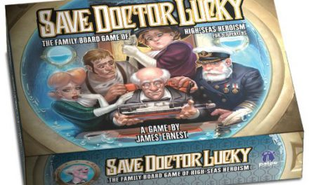 Save Doctor Lucky Board Game Review
