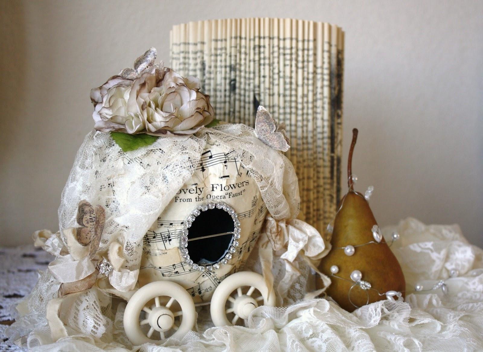 Pumpkin Carriage Paper Craft