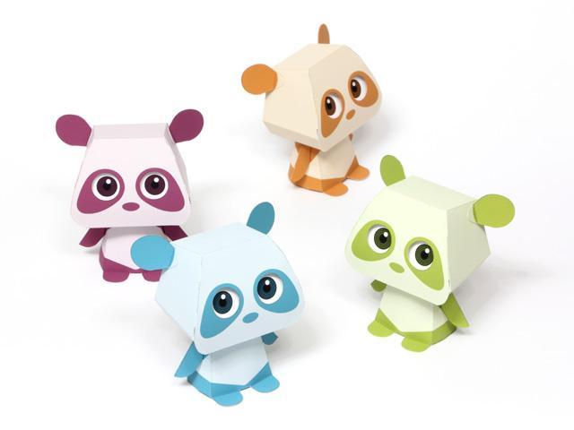 Cute But Creepy Quorory Panda Printable