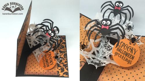 Pop-Up Halloween Spider Card