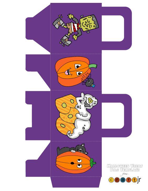 Cute Halloween Box Printables