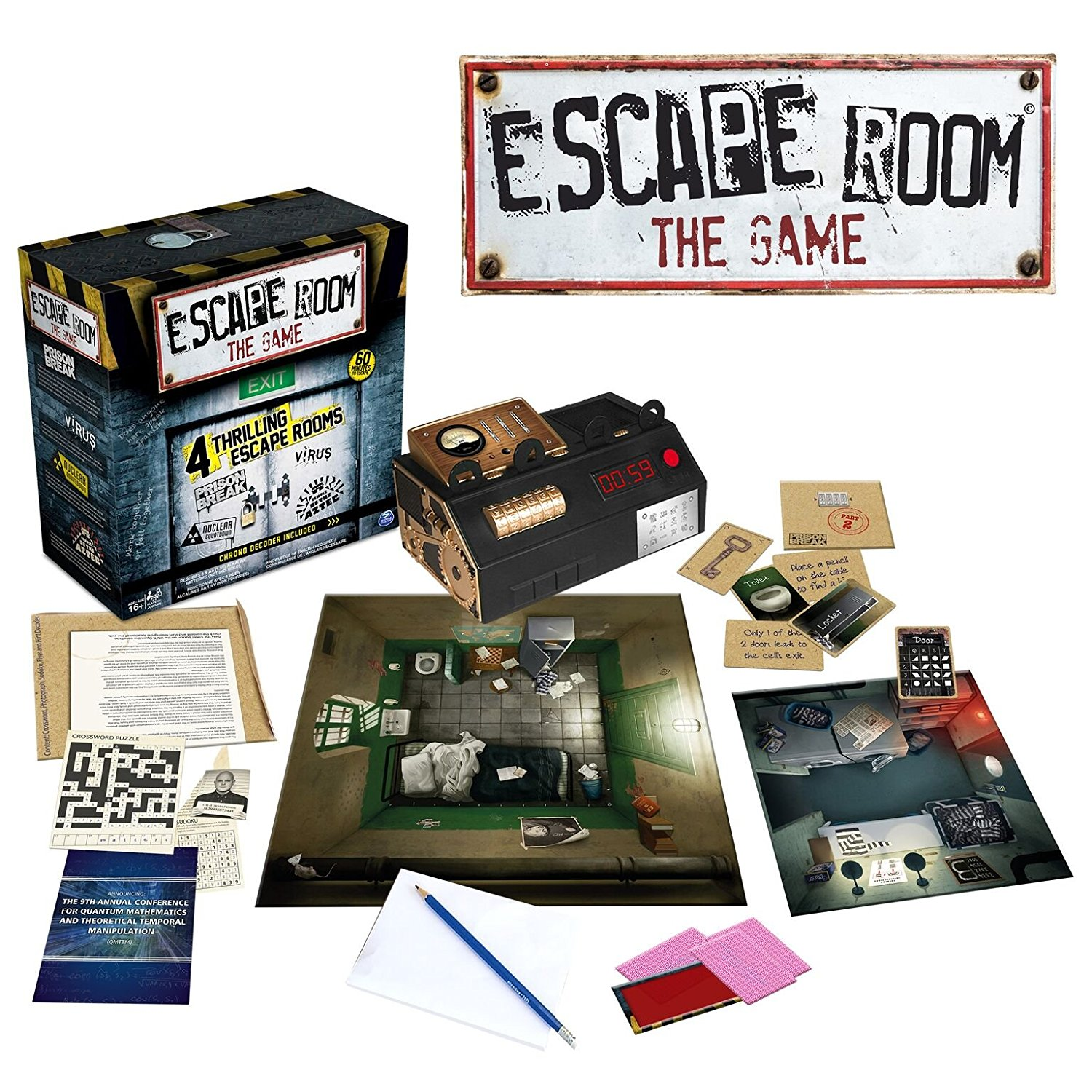 Spin Master Games — Escape Room The Game