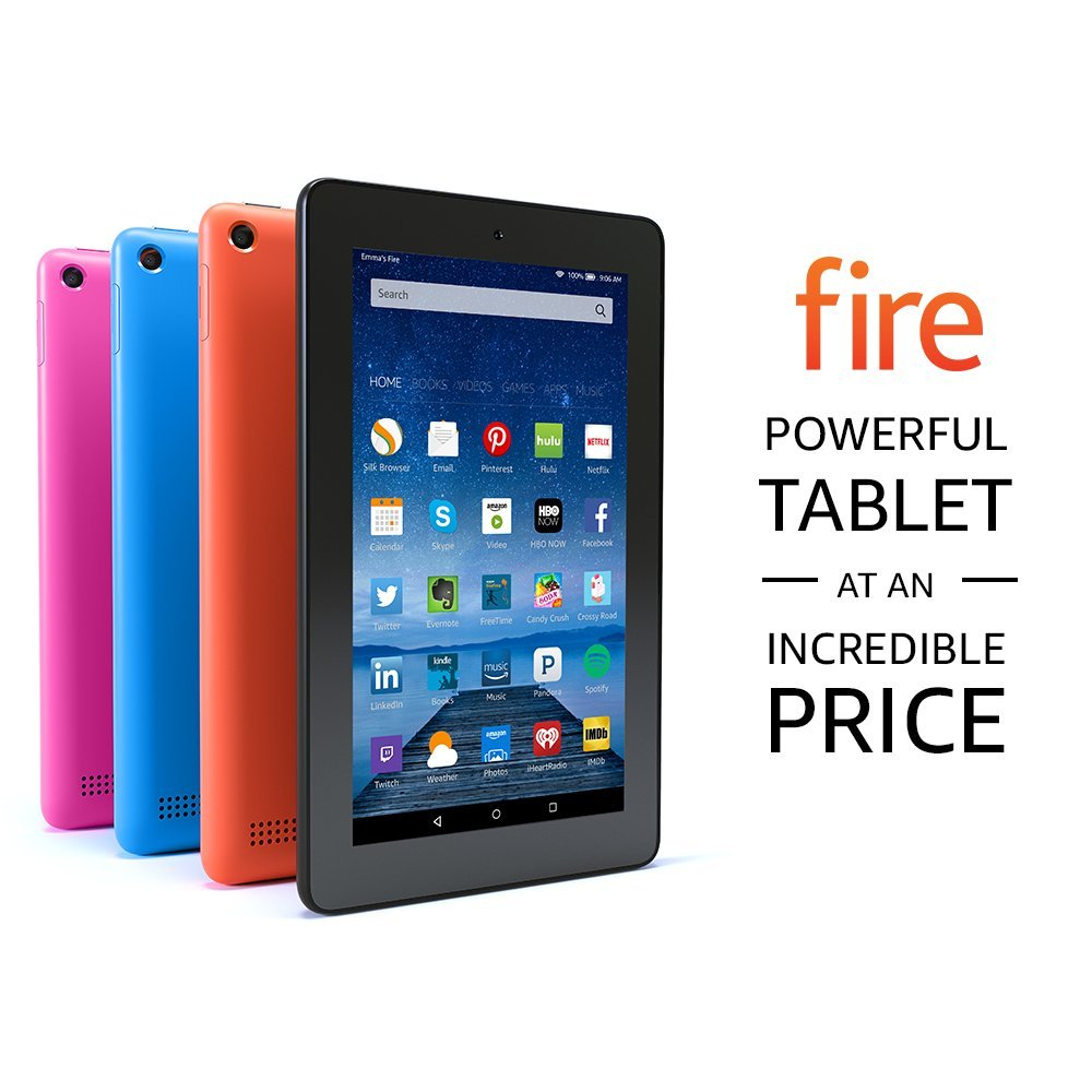 Fire Tablet With Alexa