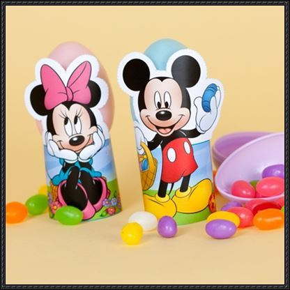 Mickey And Minnie Easter Egg Stands