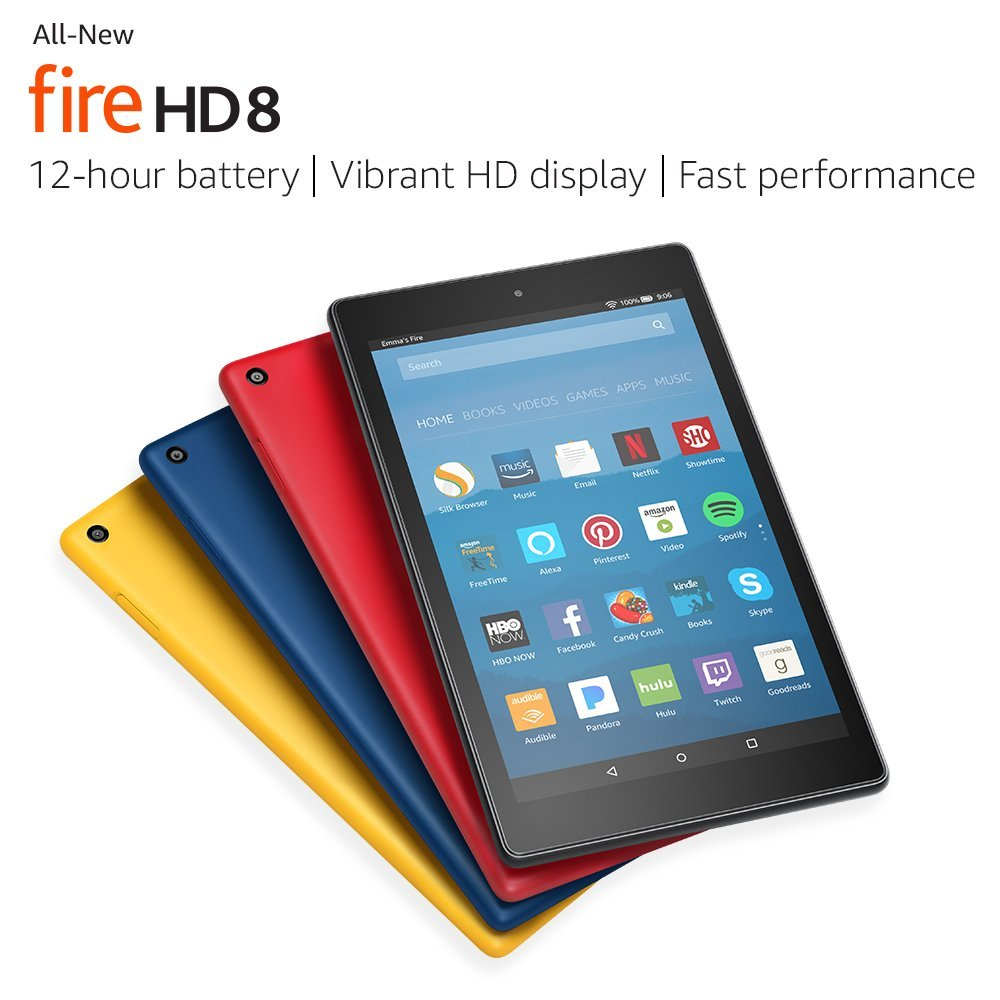All-New Fire HD 8 Tablet with Alexa Product Review
