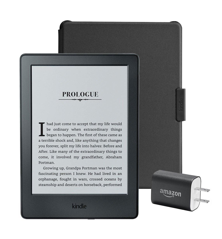 Kindle 6″ E-Reader Essentials Bundle