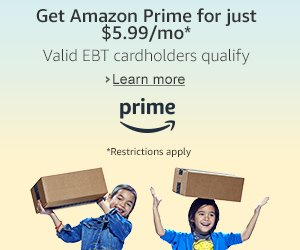 Are You An Amazon Prime Member?