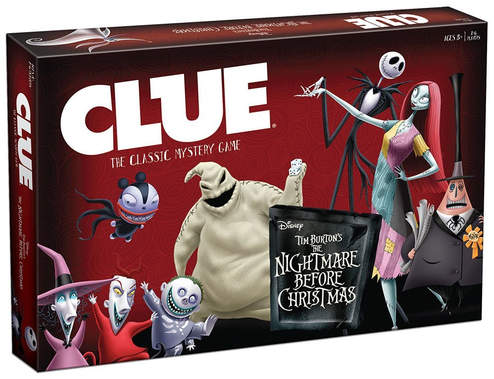 Clue: Nightmare Before Christmas Board Game