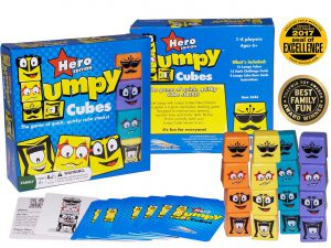 Lumpy Cubes Family Board Game