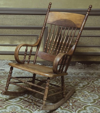Peachy Haunted Rocking Chair Two Cans On A String Pdpeps Interior Chair Design Pdpepsorg