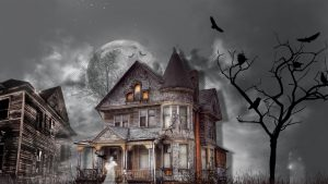 Is That A Haunted House?