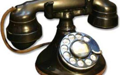 Hazel's Antique Telephone
